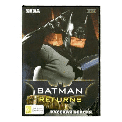Картридж для Сеги Batman Returns