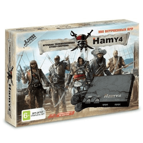 """Hamy 4"" (350в1) Assassin Creed Черная"