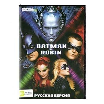 Картридж для Сеги BATMAN and Robin