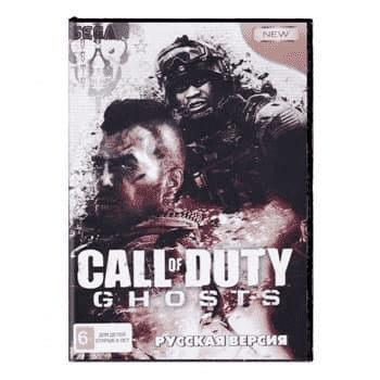 Картридж для Сеги Call of Duty Ghosts