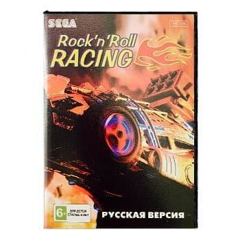ROCK'N ROLL RACING (Картриджи Sega)